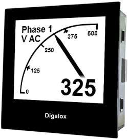 DPM72AVP Graphic panelmeter with USB
